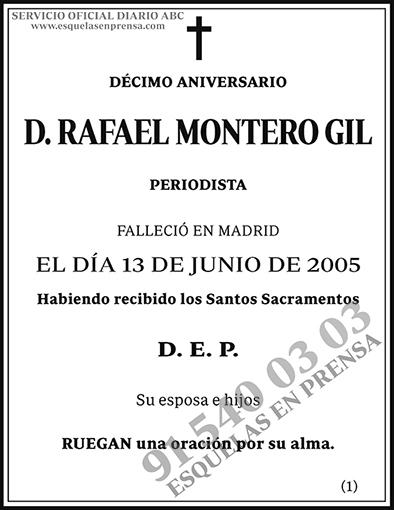 Rafael Montero Gil